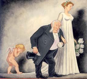 Vernisaáž karikaturisty a malíře V. Hehla