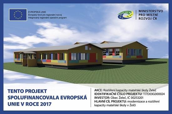Rekonstrukce a přístavba Mateřské školy v Želči