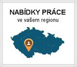 Nabídky práce v našem regionu