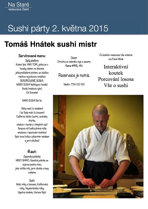 Sushi párty