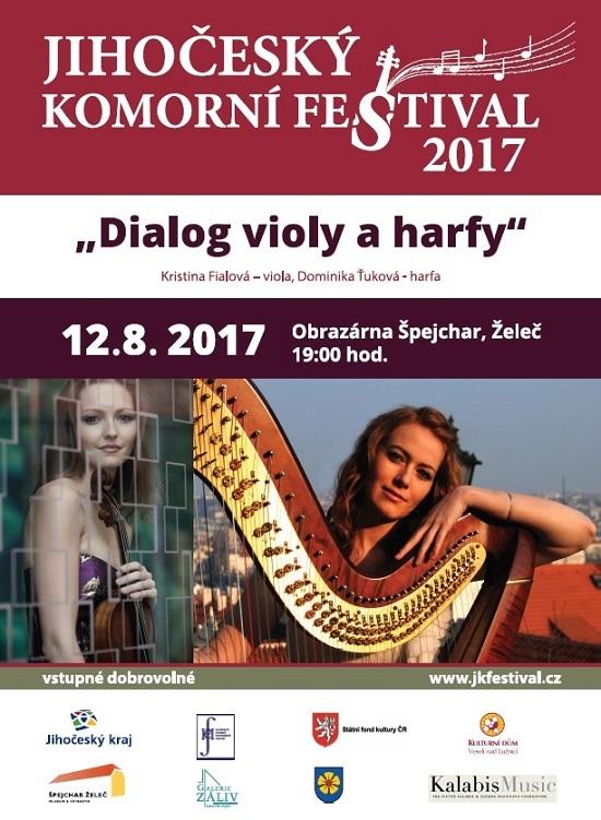 "Koncert ""Dialog violy a harfy"""