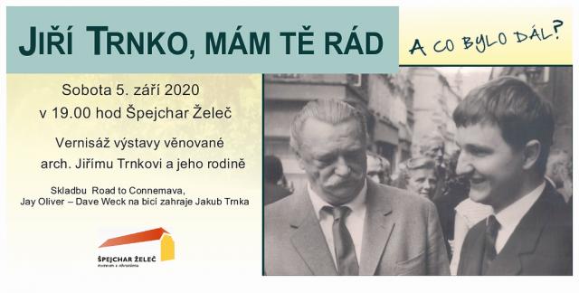 """Vernisáž výstavy """"Jiří Trnko, mám Tě rád"""""""